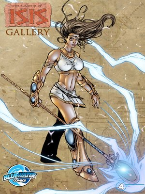 cover image of The Legend of Isis Gallery, Issue 4