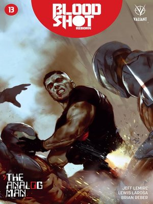 cover image of Bloodshot Reborn (2015), Issue 13