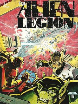 cover image of Alien Legion (1984), Issue 7