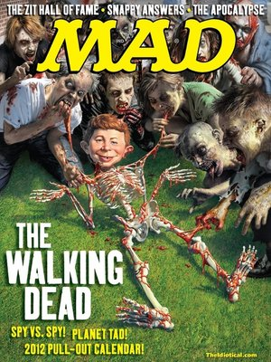 cover image of MAD Magazine #512