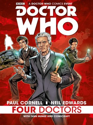 cover image of Doctor Who: Four Doctors