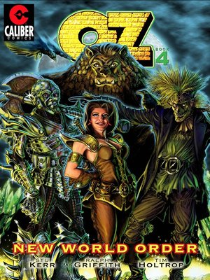 cover image of OZ: Volume 4