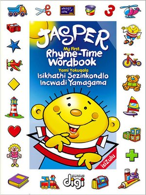 cover image of Jasper Rhyme-Time Wordbook