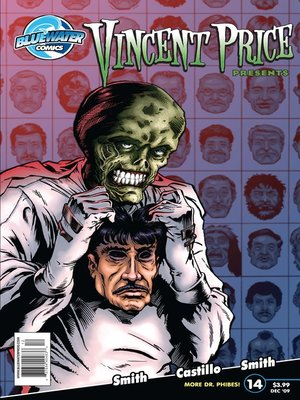 cover image of Vincent Price Presents, Issue 14