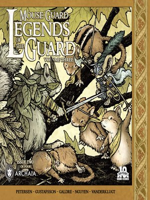 cover image of Mouse Guard Legends of the Guard, Volume 3, Issue 2