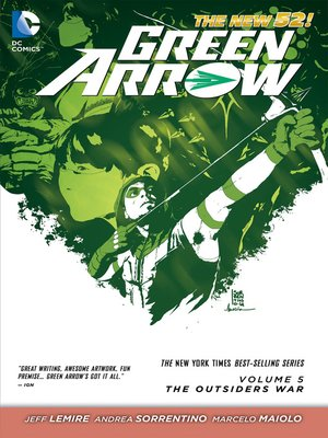 cover image of Green Arrow (2011), Volume 5