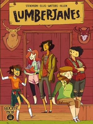 cover image of Lumberjanes, Issue 1