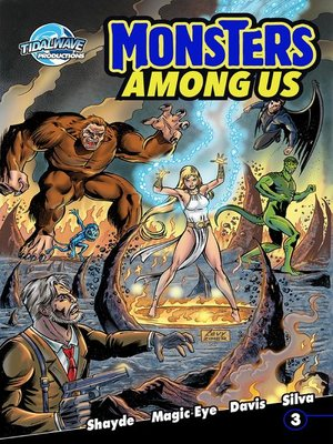 cover image of Monster's Among Us, Volume 1, Issue 3