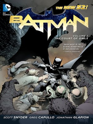 cover image of Batman (2011), Volume 1