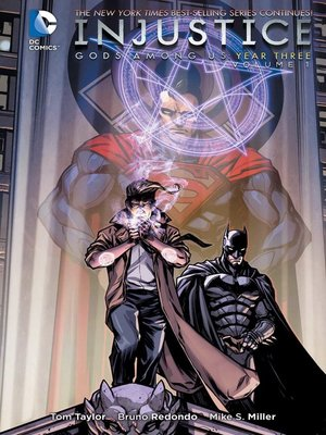 cover image of Injustice: Gods Among Us: Year Three, Volume 1