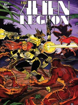 cover image of Alien Legion (1984), Issue 16