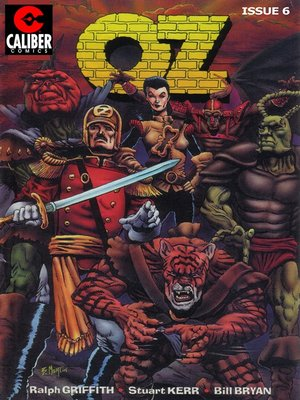 cover image of OZ, Issue 6