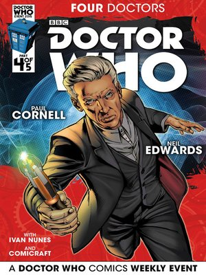 cover image of Doctor Who: Four Doctors (2015), Issue 4