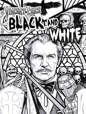 cover image of Vincent Price: Black & White