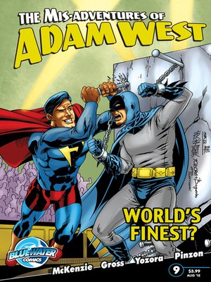 cover image of The Misadventures of Adam West, Volume 2, Issue 9