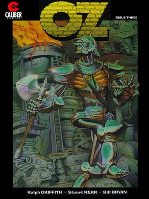 cover image of OZ, Issue 3