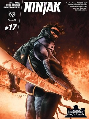cover image of Ninjak (2015), Issue 17