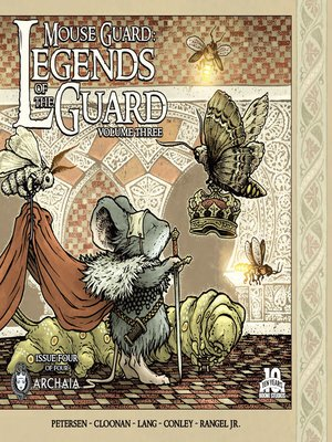 cover image of Mouse Guard Legends of the Guard, Volume 3, Issue 4