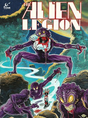 cover image of Alien Legion (1984), Issue 10
