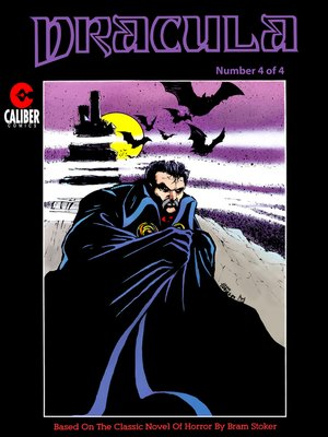 cover image of Dracula, Issue 4