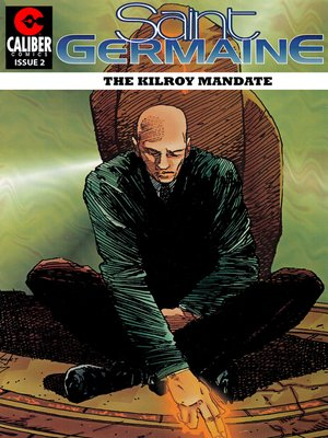 cover image of Saint Germaine: The Kilroy Mandate, Issue 2