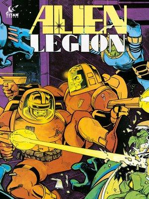 cover image of Alien Legion (1984), Issue 25