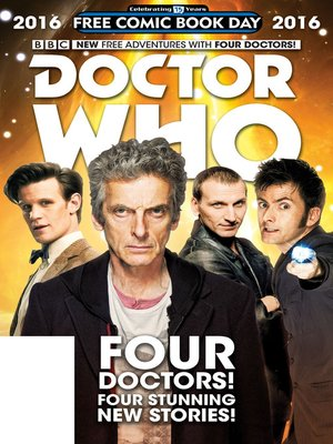 cover image of Doctor Who: Free Comic Book Day 2016