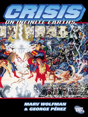 cover image of Crisis on Infinite Earths