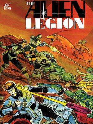 cover image of Alien Legion (1984), Issue 17
