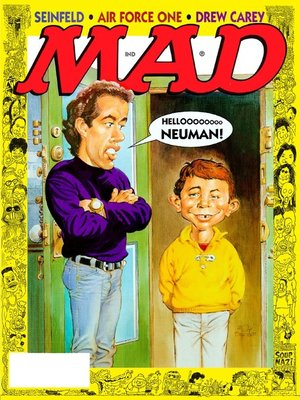 cover image of MAD Magazine #364