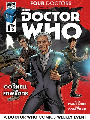 cover image of Doctor Who: Four Doctors (2015), Issue 1