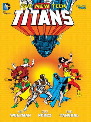 cover image of New Teen Titans, Volume 2