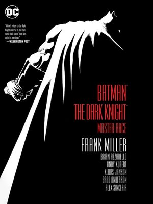 cover image of Dark Knight III: The Master Race