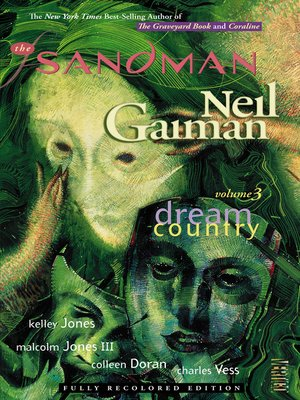 cover image of The Sandman, Volume 3