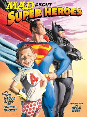 cover image of MAD About Superheroes