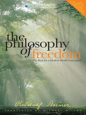 cover image of The Philosophy of Freedom