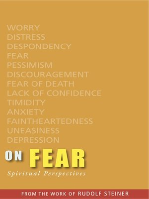cover image of On Fear