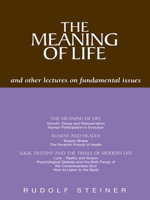 cover image of The Meaning of Life