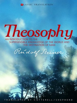 cover image of Theosophy
