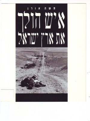 cover image of איש הולך את ארץ ישראל (A Man Walks the Land of Israel)