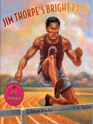 cover image of Jim Thorpe's Bright Path