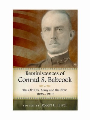 cover image of Reminiscences of Conrad S. Babcock