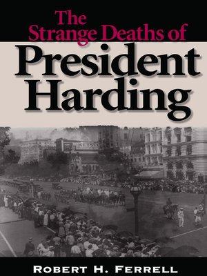 cover image of The Strange Deaths of President Harding