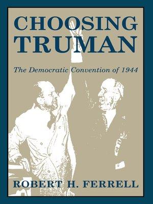cover image of Choosing Truman