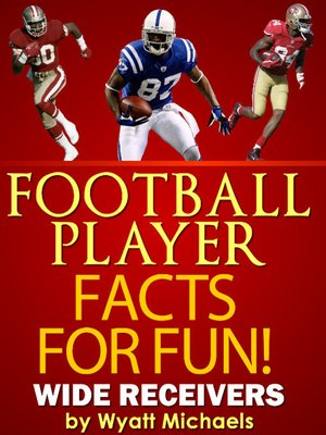 cover image of Football Player Facts for Fun! Wide Receivers
