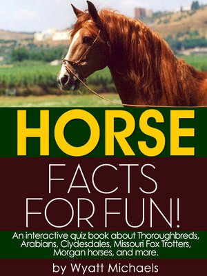 cover image of Horse Facts for Fun!
