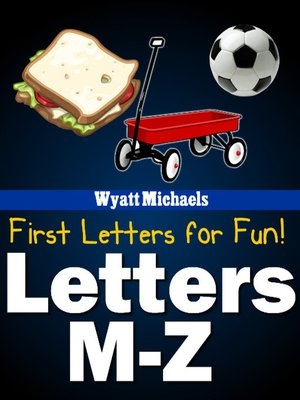 cover image of First Letters for Fun! M-Z