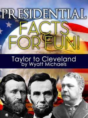 cover image of Presidential Taylor to Cleveland