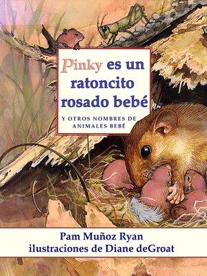 cover image of Pinky es un ratoncito rosado bebé