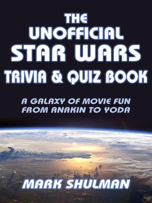 cover image of The Unofficial Star Wars Trivia & Quiz Book